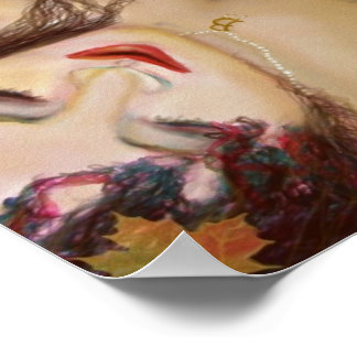 Anne Boleyn Bed of Leaves Poster Print