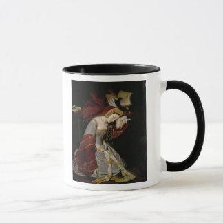 Anne Boleyn  in the Tower, detail, 1835 Mug
