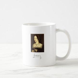 Anne Boleyn Classic White Coffee Mug