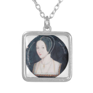 Anne Boleyn portrait necklace (square)