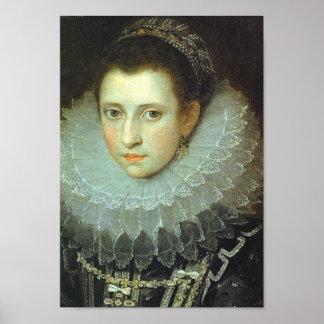 Anne Boleyn Queen of England Poster