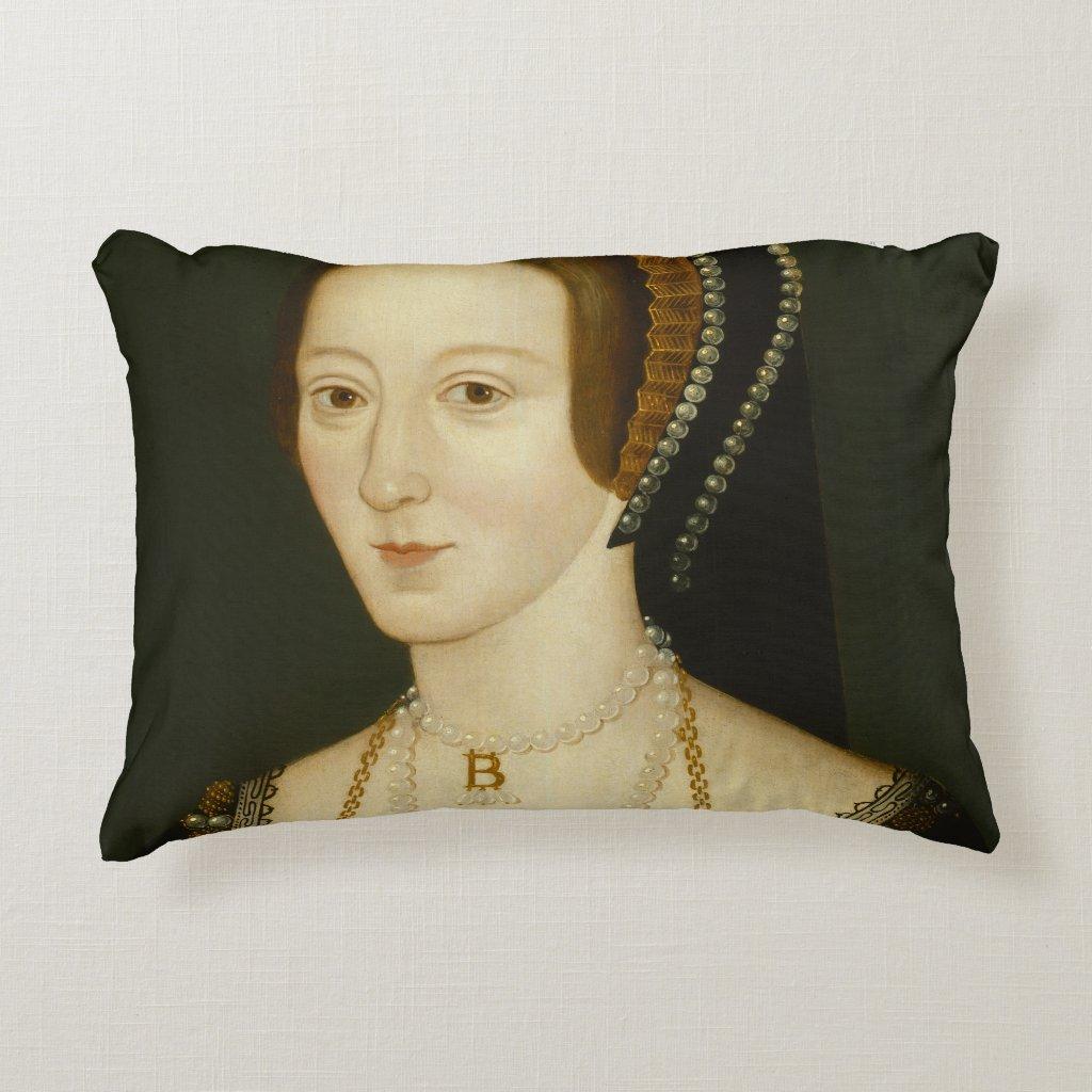 Anne Boleyn Quote Pillow