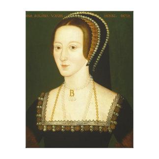 Anne Boleyn Second Wife of Henry VIII Portrait Canvas Print