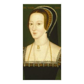 Anne Boleyn Second Wife of Henry VIII Portrait Card