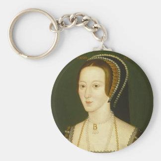 Anne Boleyn Second Wife of Henry VIII Portrait Keychains
