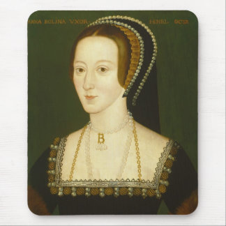 Anne Boleyn Second Wife of Henry VIII Portrait Mouse Pads