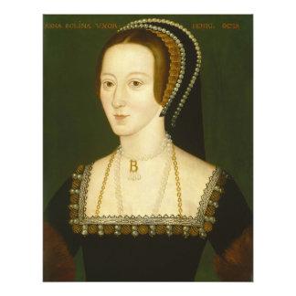 Anne Boleyn Second Wife of Henry VIII Portrait Photo Print