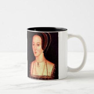 Anne Boleyn Two-Tone Coffee Mug