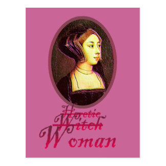 Anne Boleyn - Woman Postcard