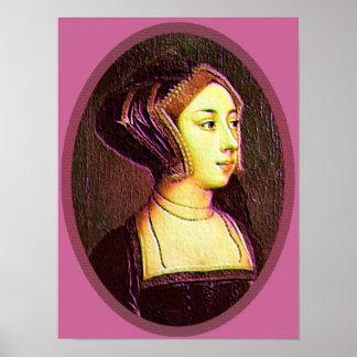 Anne Boleyn - Woman Print