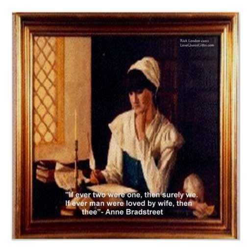 anne bradstreet paper 2 Anne bradstreet biography by ann woodlief painting by ladonna gulley warrick anne bradstreet was born in 1612 to a nonconformist former soldier of queen elizabeth, thomas dudley, who managed the affairs of the earl of lincoln.