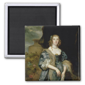 Anne Carr, Countess of Bedford, c.1638 2 Inch Square Magnet