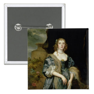 Anne Carr, Countess of Bedford, c.1638 Pinback Button