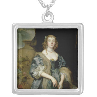 Anne Carr, Countess of Bedford, c.1638 Silver Plated Necklace