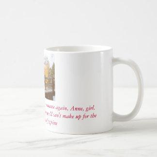 Anne de aguilones verdes taza de café