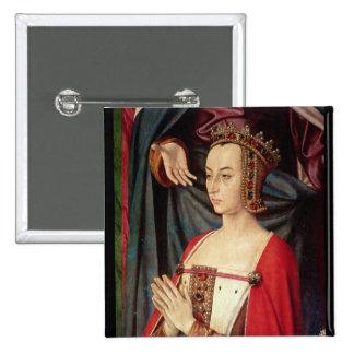 Anne de Francia Pin Cuadrada 5 Cm