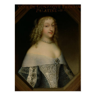 Anne de Gonzaga princesa Palatine Postales