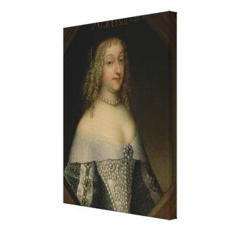 Anne de Gonzaga  Princess Palatine Canvas Print