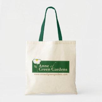 Anne de jardines verdes bolsa tela barata