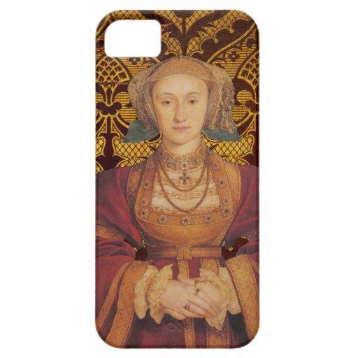 Anne de la reina de Cleves de la caja del teléfono iPhone 5 Protectores