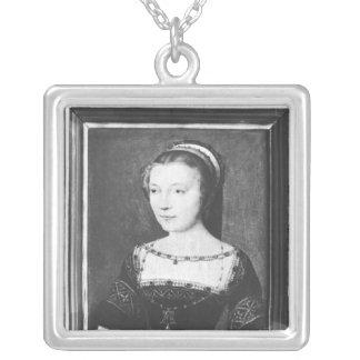 Anne de Pisseleu  Duchess of Etampes, c.1448 Square Pendant Necklace