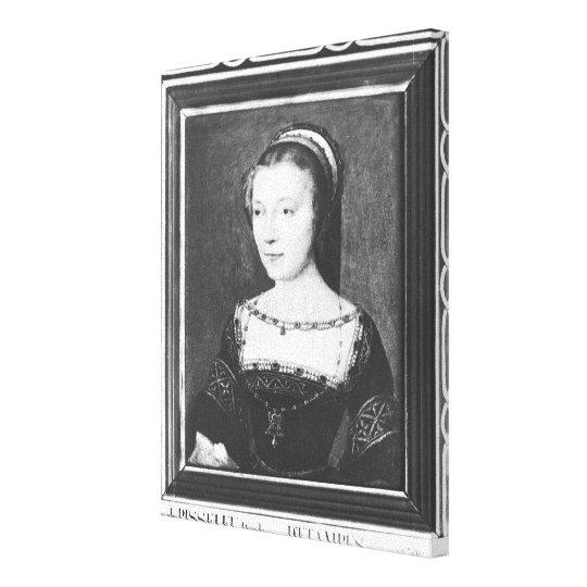 Anne de Pisseleu duquesa de Etampes, c.1448 Impresión En Lienzo