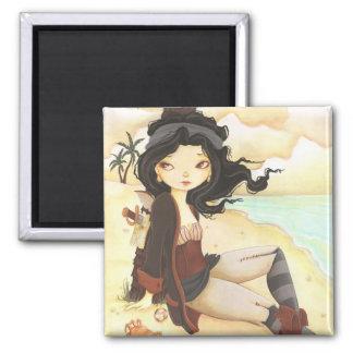 Anne - fairy pirate fantasy magnet
