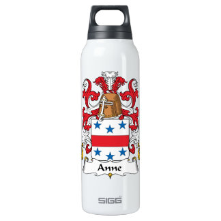 Anne Family Crest 16 Oz Insulated SIGG Thermos Water Bottle