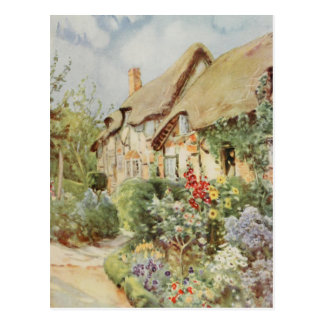 Anne Hathaway's Cottage II, Stratford-upon-Avon Postcard