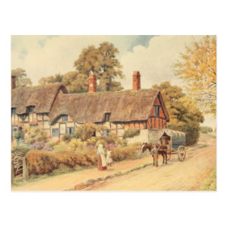 Anne Hathaway's Cottage III, Stratford-upon-Avon Postcard