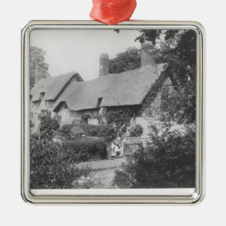 Anne Hathaway's cottage Metal Ornament