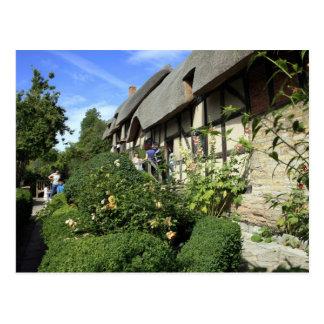 Anne Hathaway's Cottage Postcard