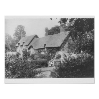 Anne Hathaway's cottage Poster