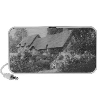 Anne Hathaway's cottage Portable Speakers