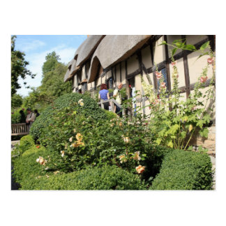 Anne Hathaway's Tudor Cottage Postcard