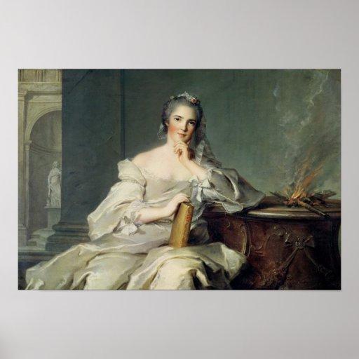 Anne-Henriette de France, as the element of Posters