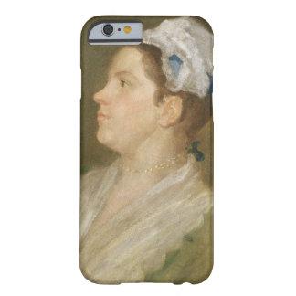 Anne Hogarth (1701-71), c.1740 (aceite en la lona) Funda De iPhone 6 Barely There
