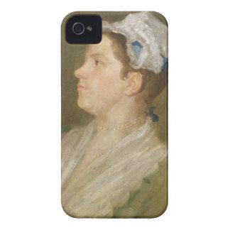 Anne Hogarth (1701-71), c.1740 (aceite en la lona) iPhone 4 Funda