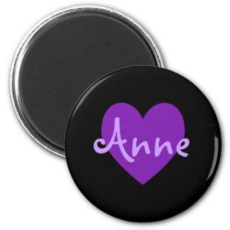 Anne in Purple Magnet
