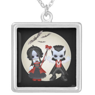 Anne-Marie and Dominic Little Gothic Necklaces