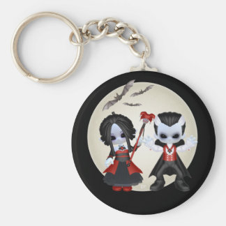 Anne-Marie And dominic Little Gothics Keychain