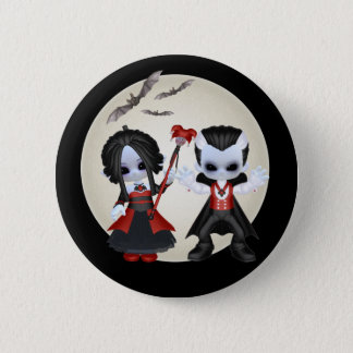 Anne-Marie And dominic Little Gothics Pinback Button
