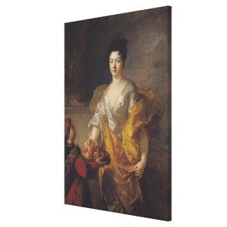 Anne-Marie de Bosmelet, Duchess of La Force Canvas Print