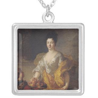 Anne-Marie de Bosmelet, Duchess of La Force Square Pendant Necklace
