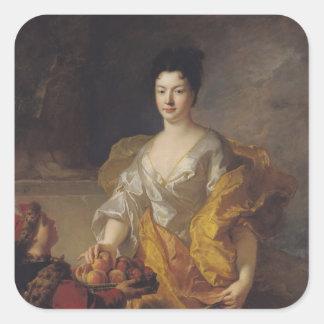 Anne-Marie de Bosmelet, Duchess of La Force Square Sticker