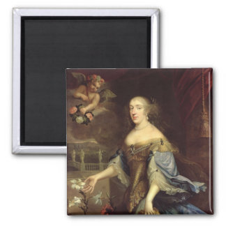 Anne-Marie d'Orleans  Duchess of Montpensier 2 Inch Square Magnet