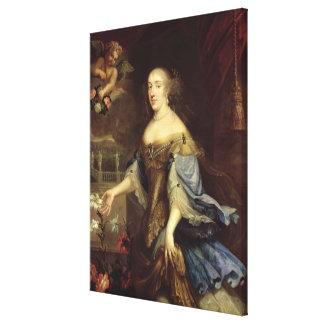 Anne-Marie d'Orleans  Duchess of Montpensier Canvas Print