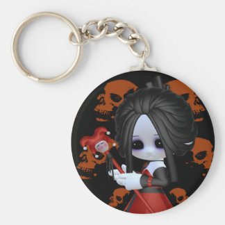 Anne-Marie Little Gothic Keychain