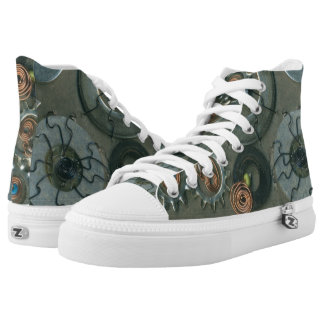 Anne Mulligan Mechanical ACEO Challenge High-Top Sneakers