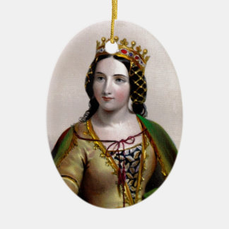 Anne Neville Oval Ornament